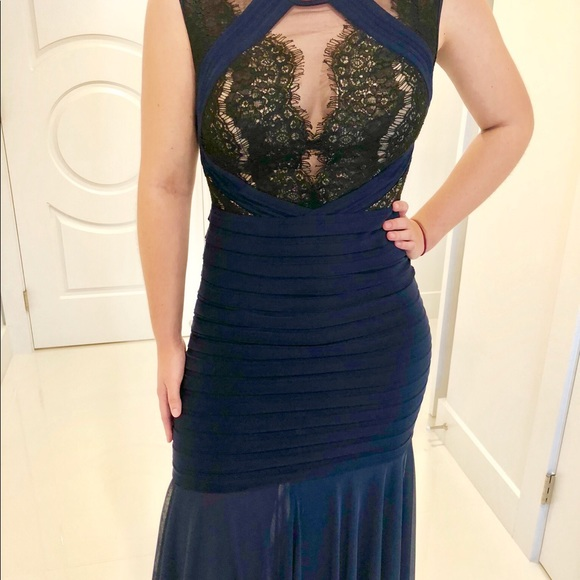 Cartise Dresses | Stunning Oneofakind Navy Evening Gown | Poshmark